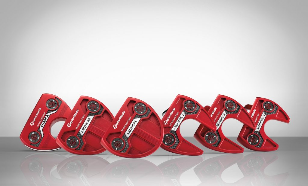 TaylorMade TP Red Putters