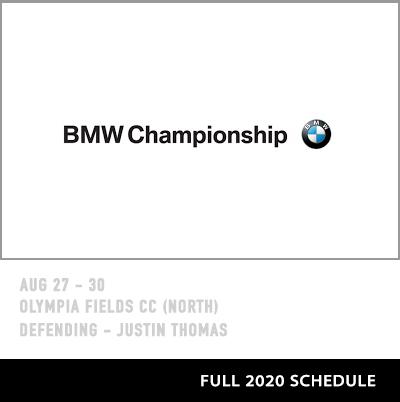 2020 BMW Championship